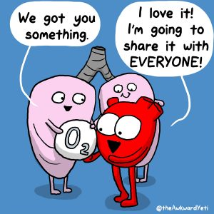 Los investigadores también tienen su corazoncito