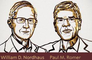 El Premio Nobel de Economía 2018: Los límites y las fuentes del crecimiento económico