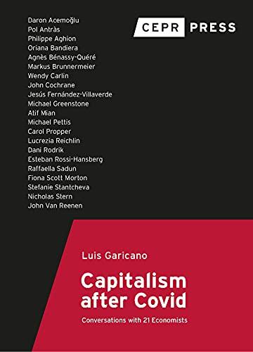 Recomendación de lectura (veraniega): El capitalismo después del Covid – conversaciones con 21 Economistas