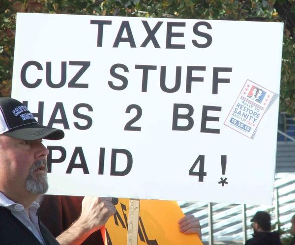 ¿Por qué no se debe invocar el esfuerzo fiscal como argumento si uno quiere que los impuestos sean bajos?
