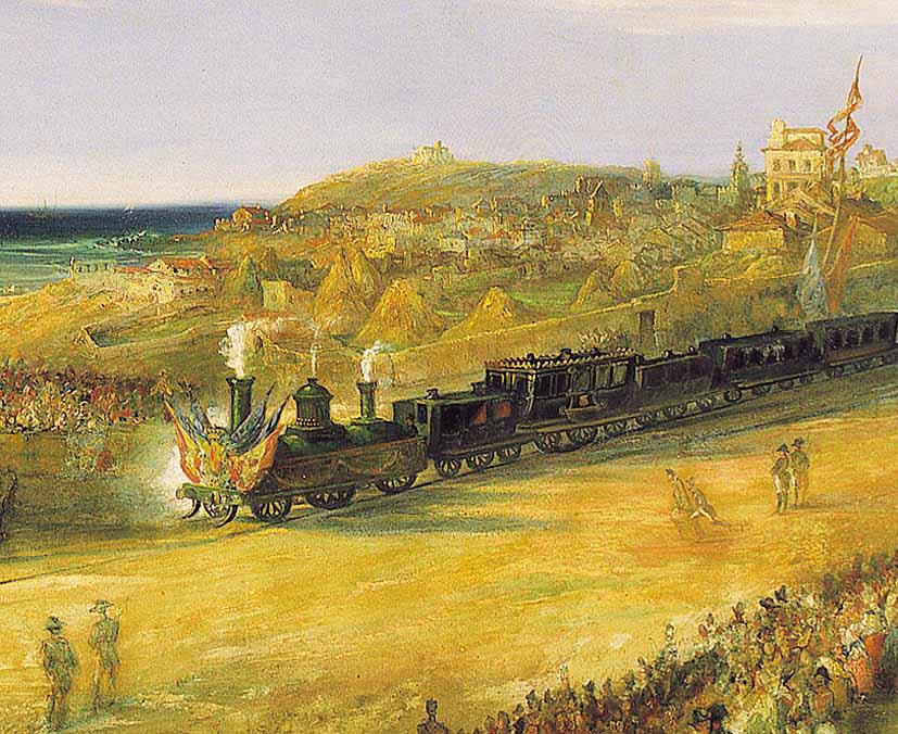El ferrocarril español en el siglo XIX: la financiación de una red infrautilizada