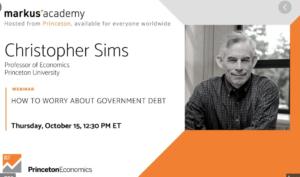 La preocupación por la deuda pública (Webinar)