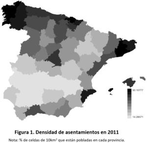 Las raíces históricas de los patrones de poblamiento en España