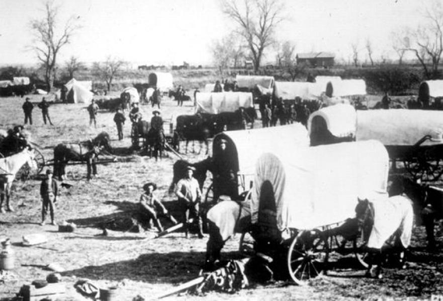 Oklahoma en 1889 y el nacimiento de las ciudades