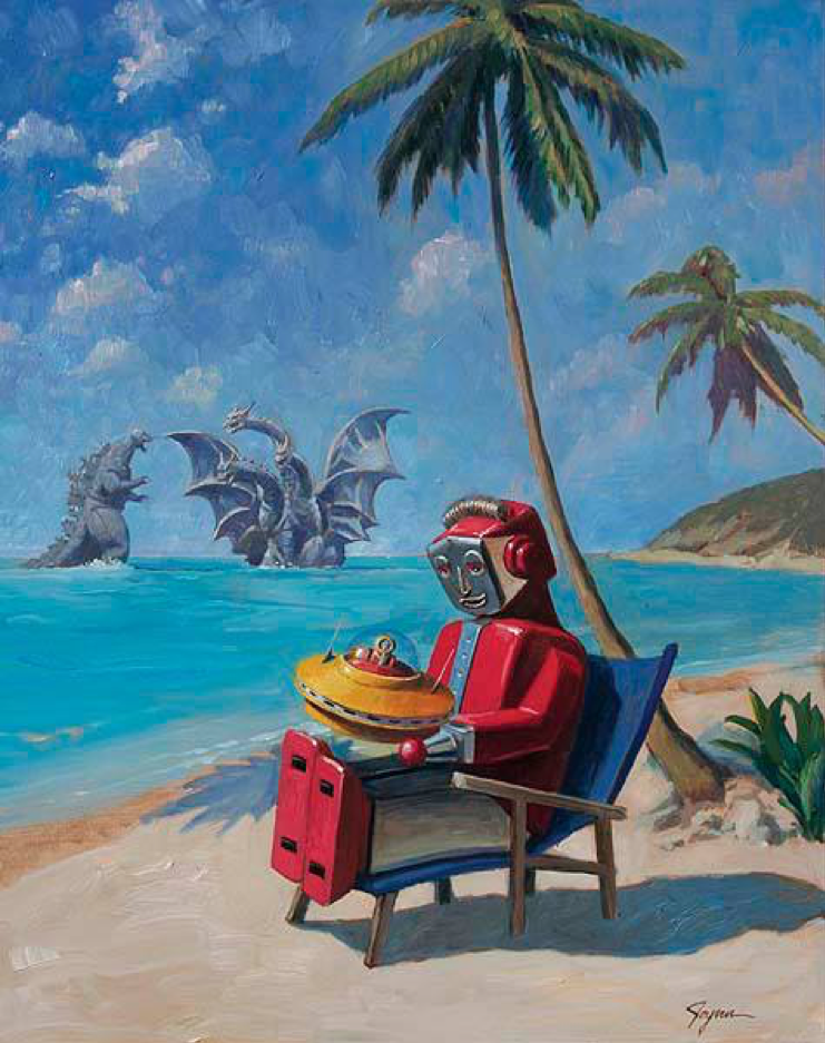 Los robots en los trópicos