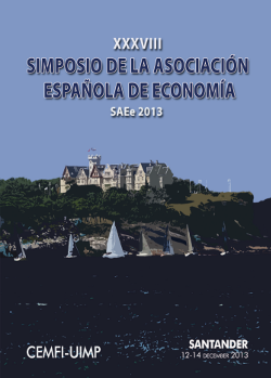 XXXVIII Simposio de la Asociación Española de Economía