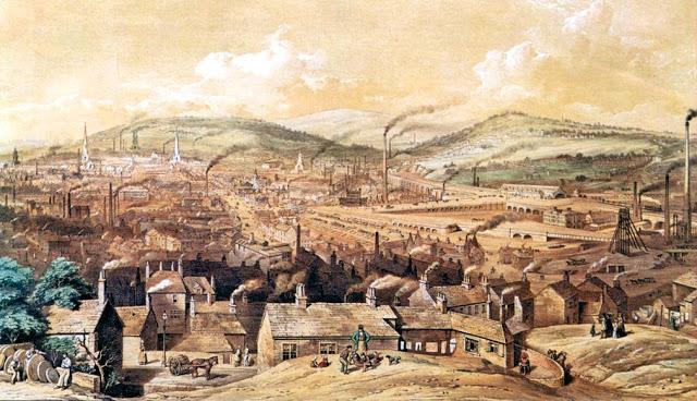 ¿Por qué ocurrió la Revolución Industrial?