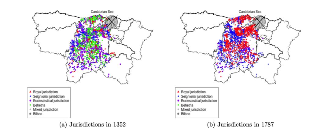 La consolidación del poder real: el caso del norte de Castilla, 1352-1787