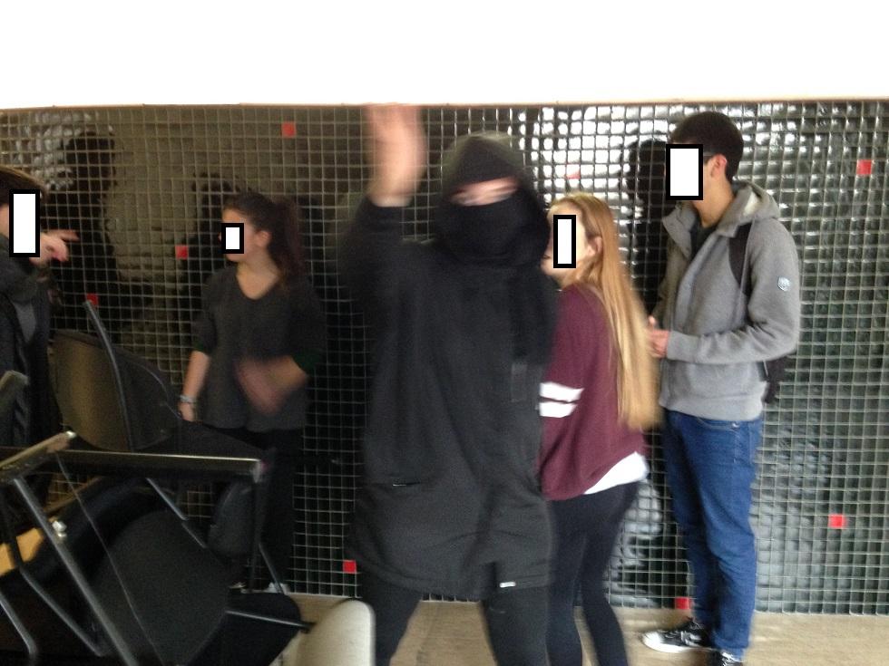 Huelga de estudiantes en la Universidad