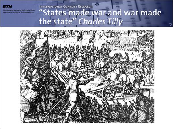 ¿Ayudan las guerras a crear estados fuertes?