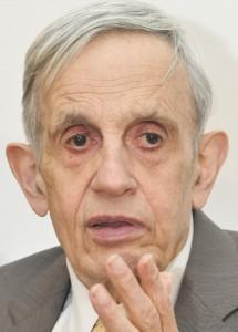 John Nash, premio Abel de matemáticas 2015