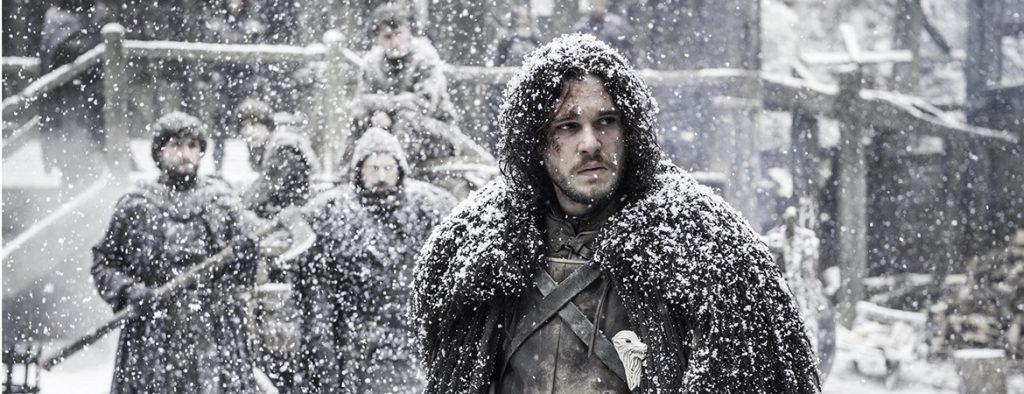 John Snow poniendo cara de circunstancias.