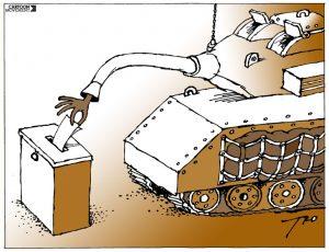 ¿Por un puñado de pesetas? La economía política del ejército en la II República