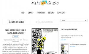 Nada es Gratis se pone Guapa: Nuevo diseño de nuestra web