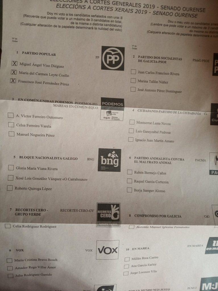 ¿Y si el resultado de las elecciones lo decide una papeleta mal diseñada?