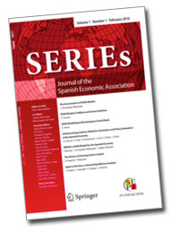SERIEs – Journal of the Spanish Economic Association