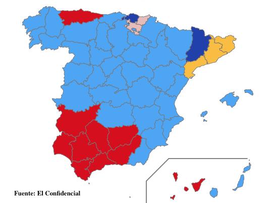 Las elecciones europeas y el misterio andaluz
